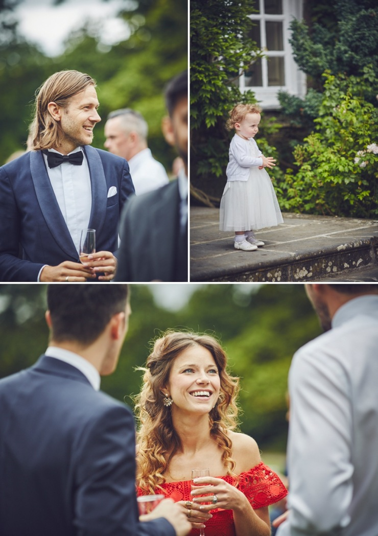 candid wedding photography Kingston Estate Devon