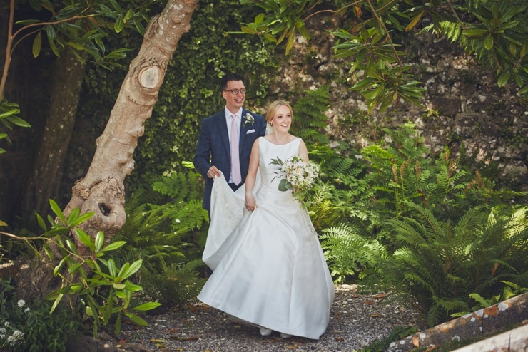 relaxed wedding photography at Anran in Devon